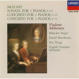 ヴラディーミル・アシュケナージ - モーツァルト/2台のピアノのためのソナタ