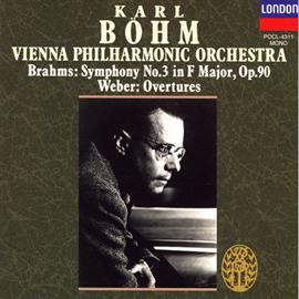 カール・ベーム - ブラ-ムス:交響曲第3番/ウェ-バ-:序