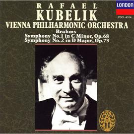 ラファエル・クーベリック - ブラ-ムス:交響曲第1番/第2番
