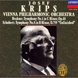 ヨーゼフ・クリップス - ブラ-ムス:交響曲 第1番/シュ-ベルト