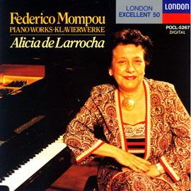 アリシア・デ・ラローチャ - モンポウ・リサイタル