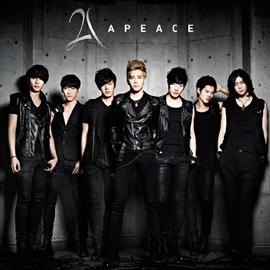 Apeace - 1st ALBUM 「Apeace」 ONYX ver.
