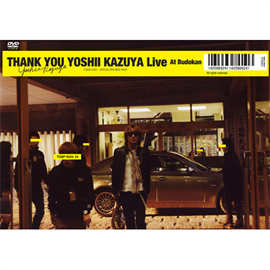 吉井和哉 - THANK YOU YOSHII KAZUYA Live At Budokan(初回生産限定盤)
