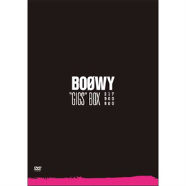 """BOφWY - """"GIGS""""BOX"""