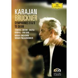 ヘルベルト・フォン・カラヤン - ブルックナー:交響曲第8番、第9番、テ・デウム
