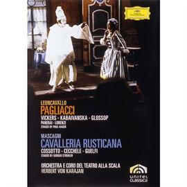 ヘルベルト・フォン・カラヤン - マスカーニ:歌劇《カヴァレリア・ルスティカーナ》/レオンカヴァッロ:歌劇《道化師》