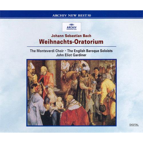 J.S.バッハ:クリスマス・オラトリオ[CD] - ジョン・エリオット・ガー ...