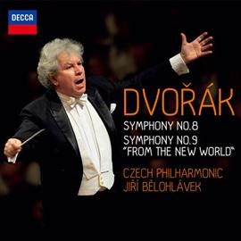イルジー・ビエロフラーヴェク - ドヴォルザーク:交響曲第8番&第9番《新世界より》