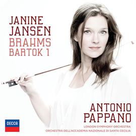ジャニーヌ・ヤンセン - ブラームス:ヴァイオリン協奏曲/バルトーク:ヴァイオリン協奏曲第1番