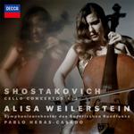 アリサ・ワイラースタイン - ショスタコーヴィチ:チェロ協奏曲第1番・第2番