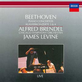 アルフレッド・ブレンデル - ベートーヴェン:ピアノ協奏曲第3番&第4番