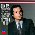 ブラームス:交響曲第1番、ハイドンの主題による変奏曲