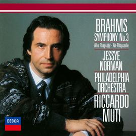 リッカルド・ムーティ - ブラームス:交響曲第3番、アルト・ラプソディ