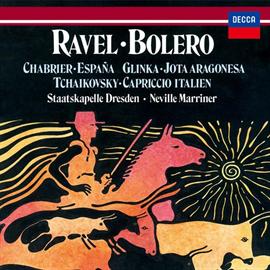 サー・ネヴィル・マリナー - ラヴェル:ボレロ、チャイコフスキー:イタリア奇想曲、他
