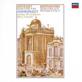 ヴラディーミル・アシュケナージ - モーツァルト&ベートーヴェン:ピアノと管楽のための五重奏曲、他