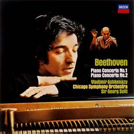 ヴラディーミル・アシュケナージ - ベートーヴェン:ピアノ協奏曲第1番&2番