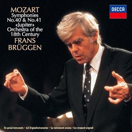 フランス・ブリュッヘン - モーツァルト:交響曲第40番、第41番《ジュピター》