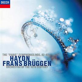 フランス・ブリュッヘン - ハイドン:パリ交響曲集(第82―87番)