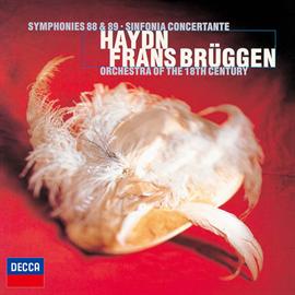 フランス・ブリュッヘン - ハイドン:交響曲第88番《V字》、第89番、協奏交響曲