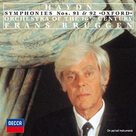 フランス・ブリュッヘン - ハイドン:交響曲第91番、第92番《オックスフォード》