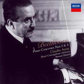 クラウディオ・アラウ - ベートーヴェン:ピアノ協奏曲第3番・第4番