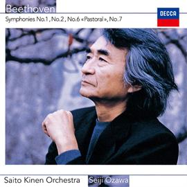 小澤征爾 - ベートーヴェン:交響曲第1番、第2番、第6番《田園》、第7番