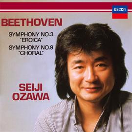 小澤征爾 - ベートーヴェン:交響曲第3番《英雄》、第9番