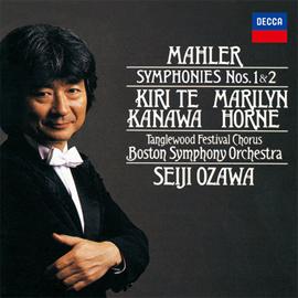 小澤征爾 - マーラー:交響曲第1番《巨人》、第2番《復活》