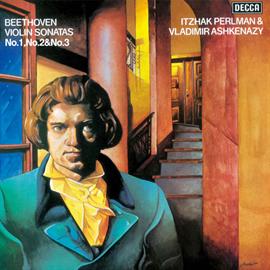 イツァーク・パールマン - ベートーヴェン:ヴァイオリン・ソナタ第1番・第2番・第3番
