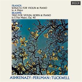 イツァーク・パールマン - フランク:ヴァイオリン・ソナタ/ブラームス:ホルン三重奏曲