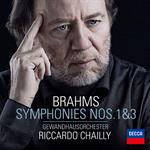 ブラームス:交響曲 第1番・第3番