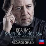 リッカルド・シャイー - ブラームス:交響曲 第2番・第4番