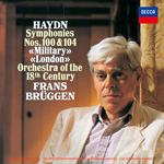フランス・ブリュッヘン - ハイドン:交響曲 第100番《軍隊》・第104番《ロンドン》