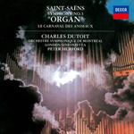 シャルル・デュトワ - サン=サーンス:交響曲 第3番《オルガン付き》、組曲《動物の謝肉祭》