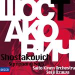 小澤征爾 - ショスタコーヴィチ:交響曲 第5番