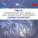 ヘルベルト・ブロムシュテット - シベリウス:交響曲 第2番・第5番