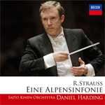 ダニエル・ハーディング - R.シュトラウス:アルプス交響曲