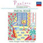 パスカル・ロジェ - プーランク: ピアノと木管のための作品集