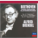 ベートーヴェン: ピアノ・ソナタ 第8番《悲愴》・第14番《月光》・第23番《熱情》