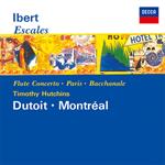 イベール:交響組曲《寄港地》、フルート協奏曲、モーツァルトへのオマージュ、交響組曲《パリ》、他
