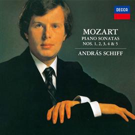 アンドラーシュ・シフ - モーツァルト:ピアノ・ソナタ集Vol.1