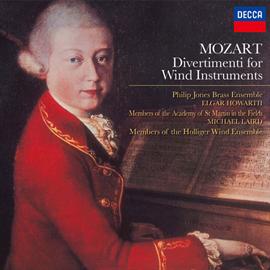 フィリップ・ジョーンズ・ブラス・アンサンブル - モーツァルト:管楽器のためのディヴェルティメント集