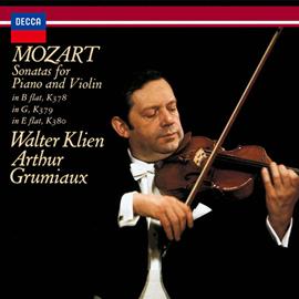 アルテュール・グリュミオー - モーツァルト:ヴァイオリン・ソナタ集 Vol.3