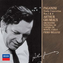 アルテュール・グリュミオー - パガニーニ:ヴァイオリン協奏曲第1番・第4番