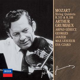 アルテュール・グリュミオー - モーツァルト:弦楽五重奏曲集