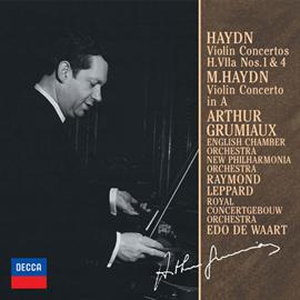 アルテュール・グリュミオー - ハイドン&M.ハイドン:ヴァイオリン協奏曲集