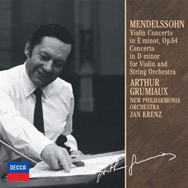 アルテュール・グリュミオー - メンデルスゾーン:ヴァイオリン協奏曲集