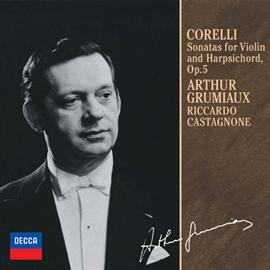 アルテュール・グリュミオー - コレッリ:ヴァイオリン・ソナタ集