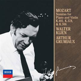 アルテュール・グリュミオー - モーツァルト:ヴァイオリン・ソナタ第30番・第34番・第41番
