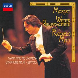 リッカルド・ムーティ - モーツァルト:交響曲第41番《ジュピター》、交響曲第31番《パリ》